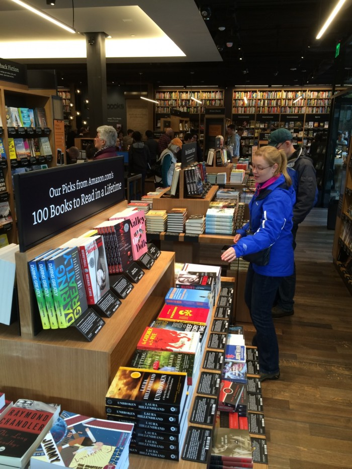 Amazon's New Bookstore – Why? What? How?