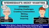 Writers Quote Wednesday Writing Challenge