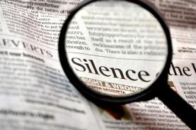 silence newspaper