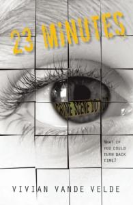 23 Minutes by Vivian Vande Velde book review Rachel Poli