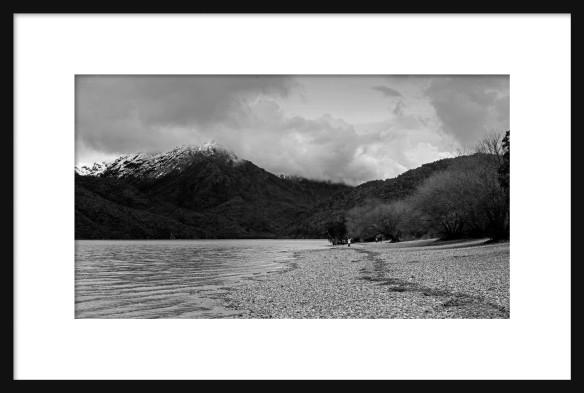 framed-lago-puelo-in-bw