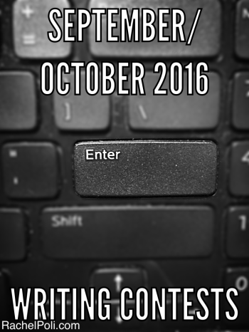 September/October 2016 Writing Contests