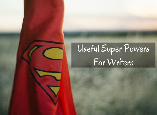 Super Powers Useful For Writers