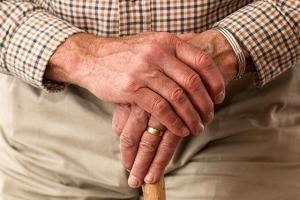 hands elderly