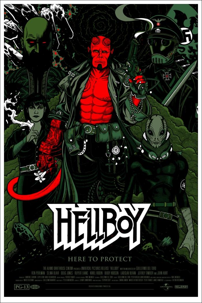 Hellboy by Florian Bertmer