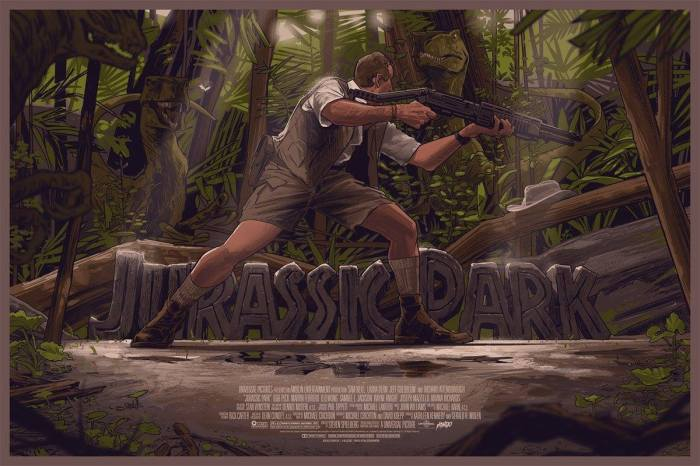 Jurassic Park by Rich Kelly