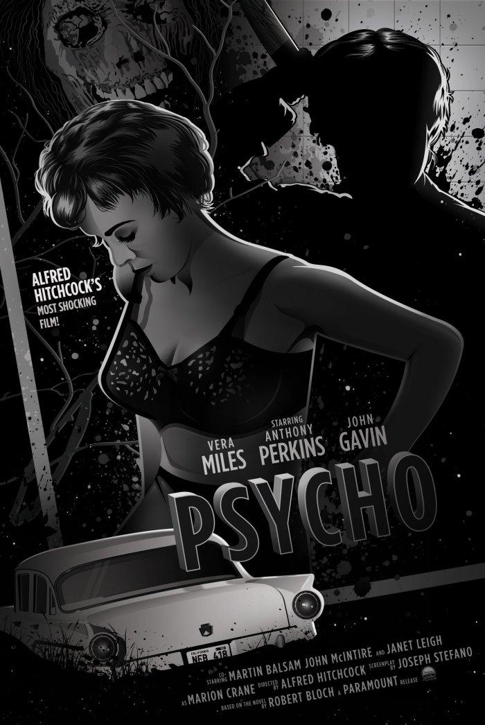 Psycho by Dave Stafford