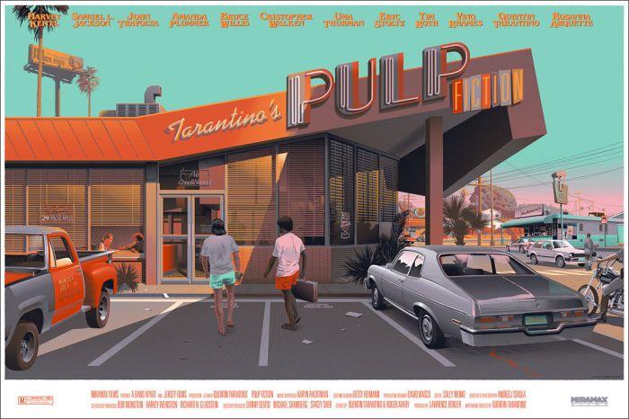 Pulp Fiction by Laurent Durieux