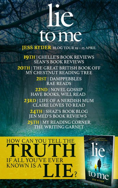Lie to Me - Blog Tour
