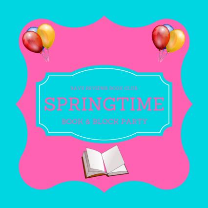 Badge for Rave Reviews Book Club Springtime Book & Blog Party