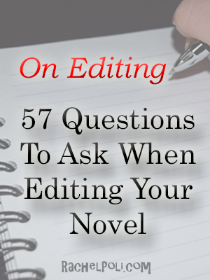 57 Editing Questions