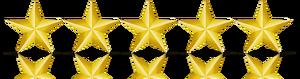 five gold stars image