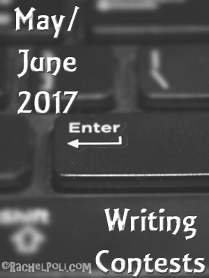 Writing contests for May and June 2017