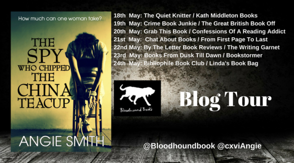 The Spy Who Chipped The China Teacup blog tour poster