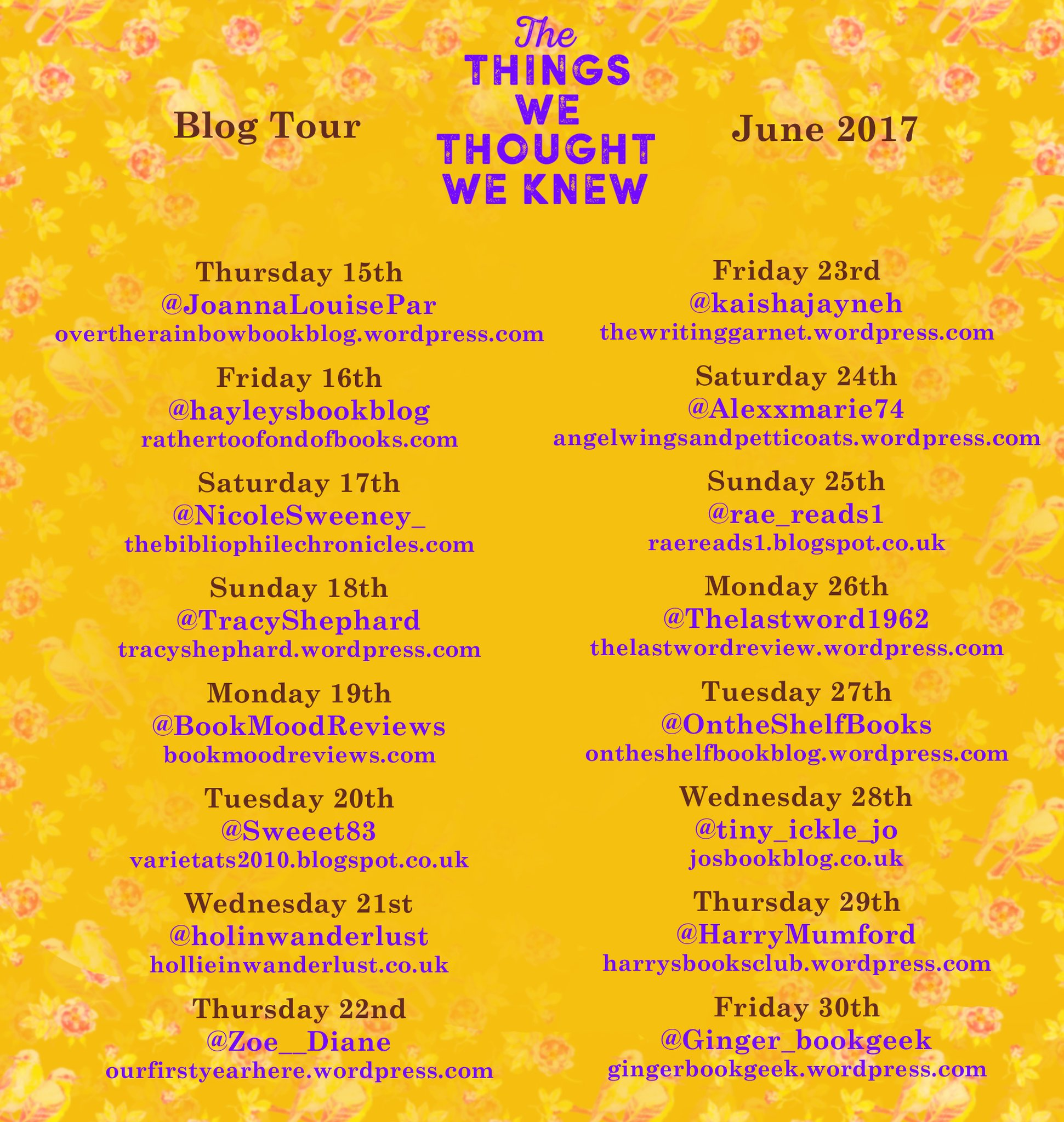 #BookReview: The Things We Thought We Knew by @MahsudaSnaith @ThomasssHill  @doubledayuk | Author Don Massenzio