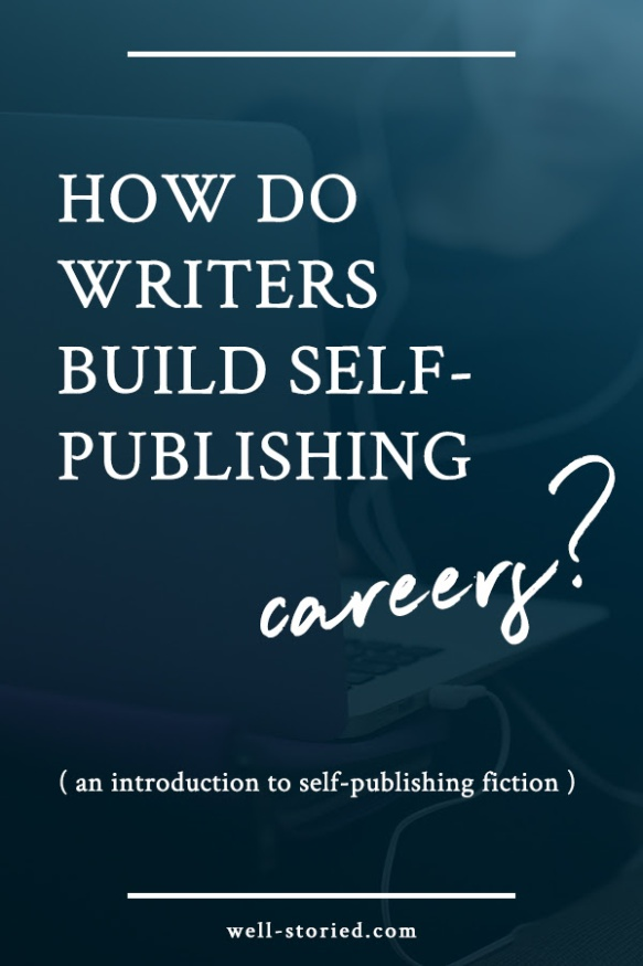 Do you want to build a writing career? Self-publishing is an awesome option. But how does self-publishing work? Come on over to the blog for an overview!