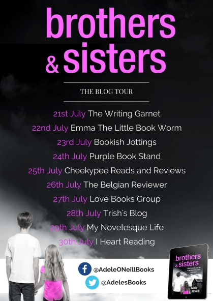 Brothers & Sisters - blog tour banner