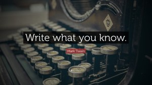 writewhatyouknow