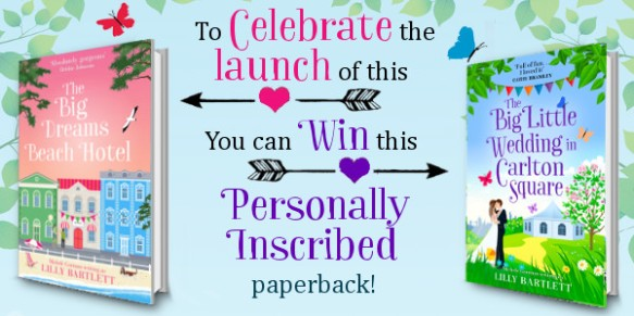 Paperback giveaway for bloggers new