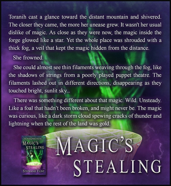 Magic's Stealing - Mountain Forge Quote