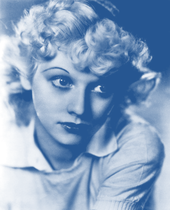 young Lucy blue