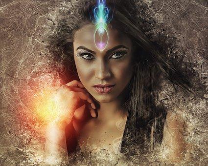 Woman, portrait, fantasy