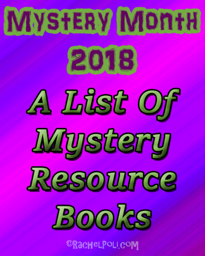 A list of mystery resource books | Mystery writing | Creative writing | writing craft | RachelPoli.com