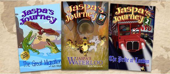 Three book banner