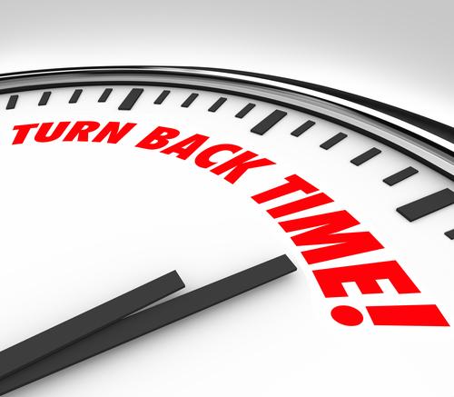 Turn Back Time Clock Reverse Aging Flashback