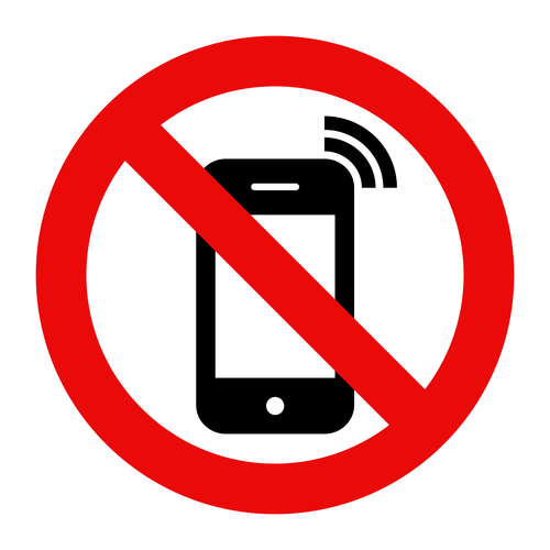 Mobile Phone prohibited
